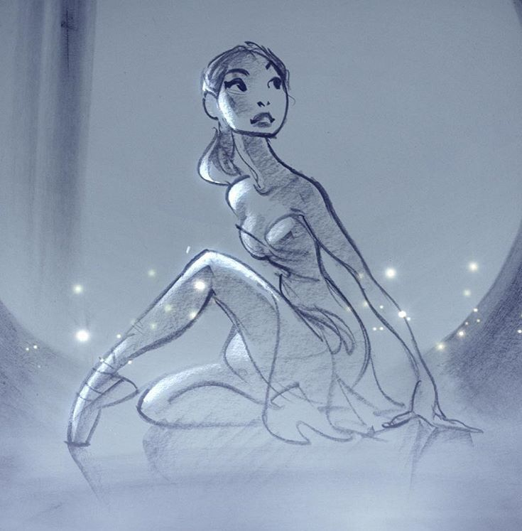 Glen Keane | https://instagram.com/p/7q70Ruu52H/                                                                                                                                                      More