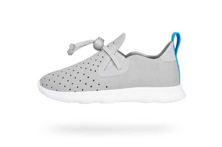 Apollo moc kids - Pigeon Grey / Shell White   Native Shoes — Keep it Lite