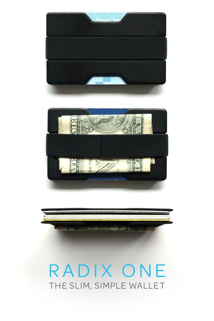 The Slim Simple Wallet / Radix One