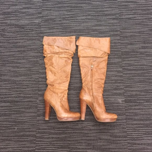 Jessica Simpson boots Jessica good condition minor scratches shown in the pictures. Jessica Simpson Shoes
