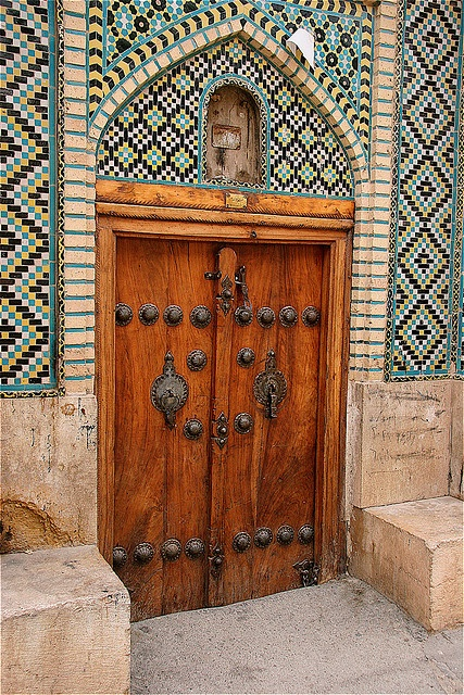 Iran - note the male and female door knockers (they wouldn\u0027t use the & 97 best Iranian / Persian (İran) doors images on Pinterest | Windows ...