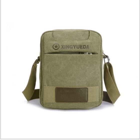 Vintage Crossbody Bag Military Canvas shoulder bags Men messenger bag men Sport Handbag tote  Briefcase For Computer