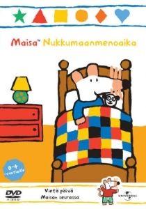 Maisa Nukkumaanmenoaika -dvd:llä toivotamme Maisalle hyvää yötä. Päivän viettäminen Maisan ja ystävien kanssa on taatusti hauskaa - aamusta iltaan! Kaverukset käyvät kirjastossa ja ostoksilla, ennen kuin Maisan on aika mennä peiton alle.