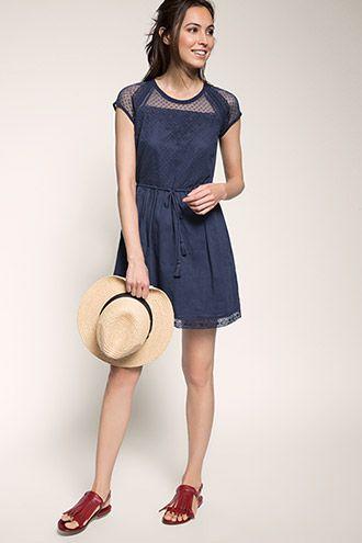 EDC / Mini-jurk met kanten top