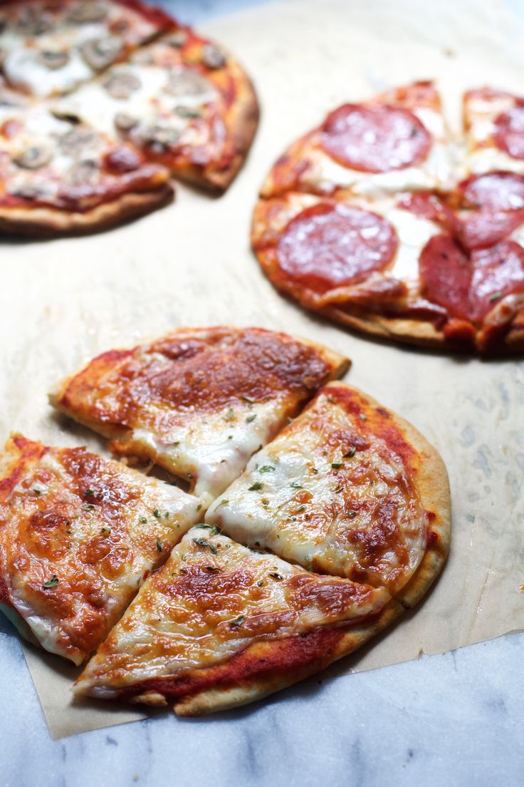 Five Minute Pita Pizzas                                                                                                                                                     More