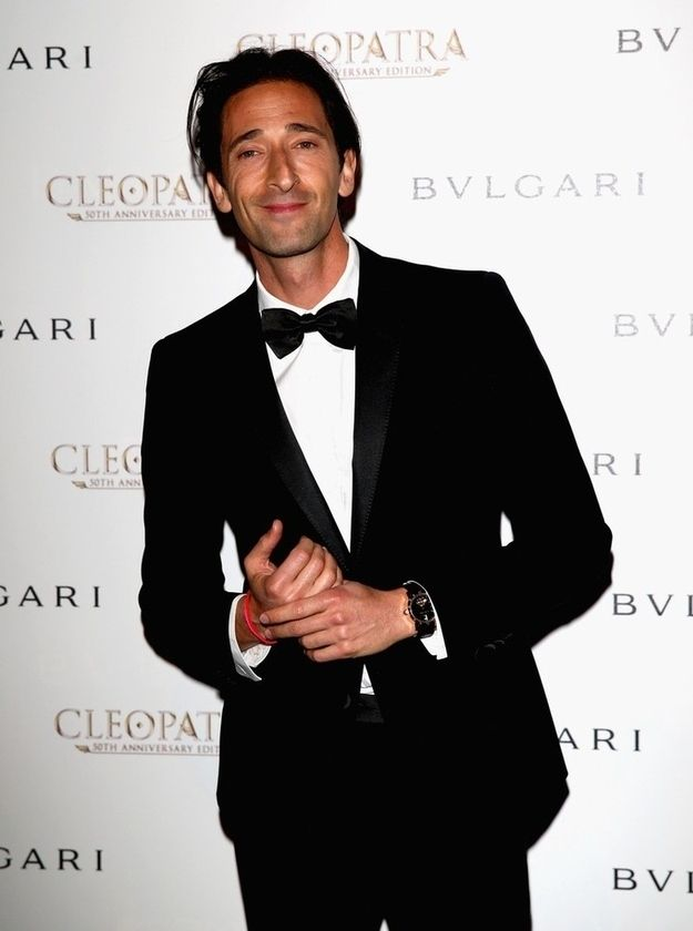 Adrien Brody | The Official Ranking Of The 51 Hottest Jewish Men In Hollywood  #actors