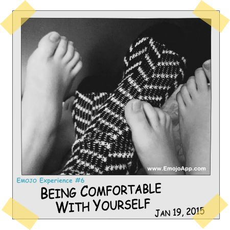 Being Comfortable With Yourself ⋆ Emojo