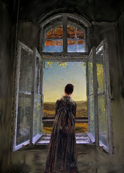 14 best marie art my version of caspar david friedrich in honore images on pinterest art. Black Bedroom Furniture Sets. Home Design Ideas
