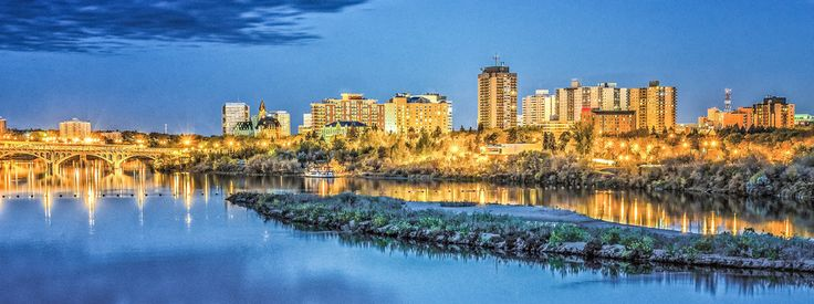 """""""Saskatoon, Saskatchewan."""" 