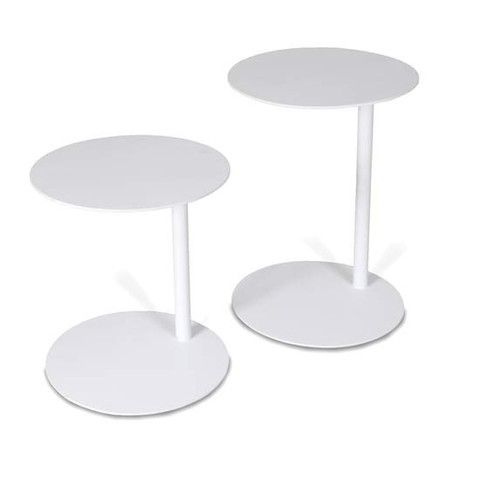 Samera Round Side Tables - Set of 2 - Complete Pad ®