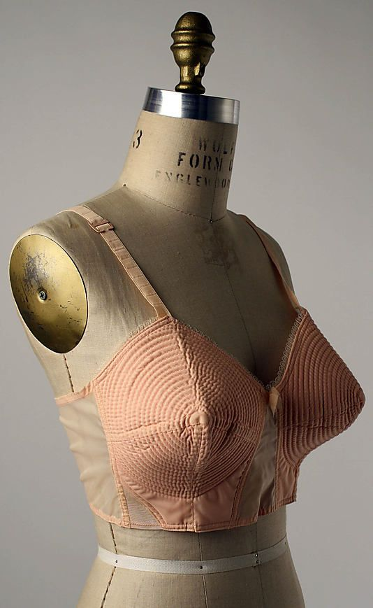 1950s bullet bra. I don't know if I like this only for obvious reasons, or because it looks big enough to be my size.
