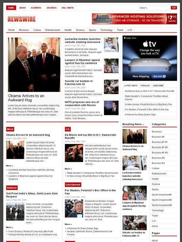 7 best News Magazine Wordpress Theme images on Pinterest | Magazine ...