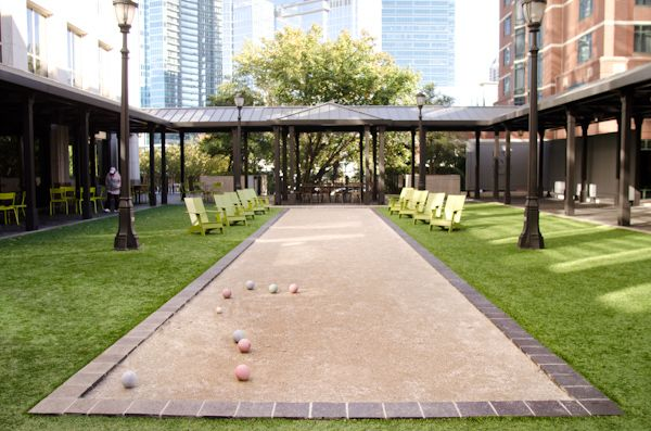 Empire State South bocce court!