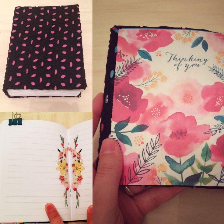 diary hand made con copertina in tessuto e pagine a righe formato a6, personalizzabile  https://www.facebook.com/groups/1840937649451426/
