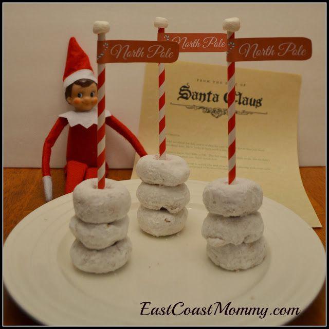 Elf on the Shelf North Pole Treats with FREE printable A-D-O-R-A-B-L-E!!!!