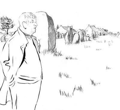 Yves Coppens - Paysages de mégalithes
