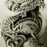 Oriental Dragon Tattoo Style (7)