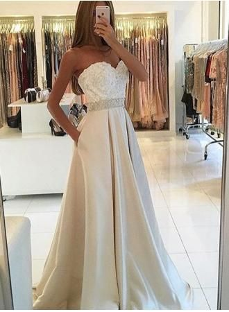 25  best Ivory prom dresses ideas on Pinterest | Apple prom ...