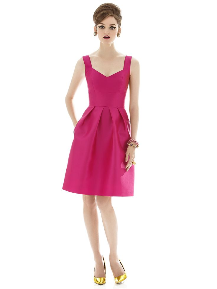 Alfred Sung Style D658 http://www.dessy.com/dresses/bridesmaid/d658/
