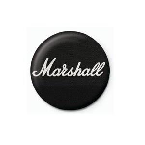 Pyramid International Rozet - Marshall (Black Logo) - 25 mm Rozet - BunlardanIstiyorum.com