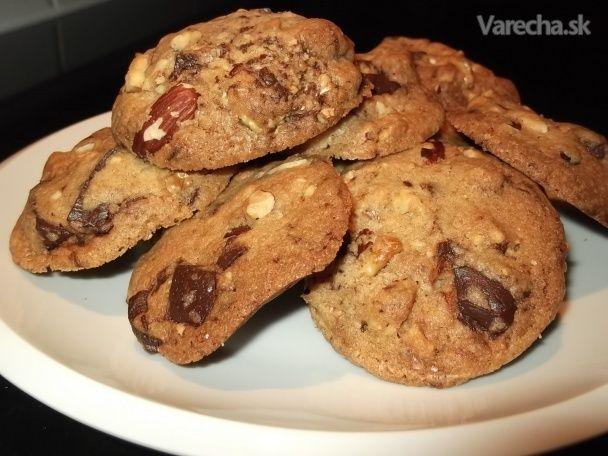 Chrumkavé keksíky upravené (fotorecept)