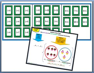 "YOU HAVE STUDENTS WHO ARE NOT ABLE TO MULTIPLY 2 OR 3 DIGIT NUMBERS BECAUSE THEY DON'T KNOW THEIR ADDITION FACTS. IT'S TAKING THEM ENTIRELY TOO LONG TO FINISH THE PROBLEM BECAUSE THEY CAN'T ADD USING MENTAL MATH. WHAT DO YOU DO? Well, here is an ""Addition Game"" FREEBIE you can use as a scaffolding tool. This is a fun activity you can implement to minimize this area of need. Use for primary and intermediate levels. This FREEBIE is a sample of a larger resource. CHECK IT OUT! ENJOY!!"