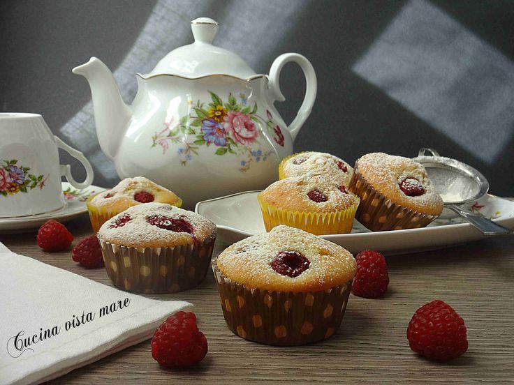 Muffin+ai+lamponi