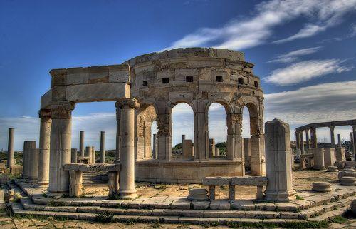 Leptis Magna -  Libya