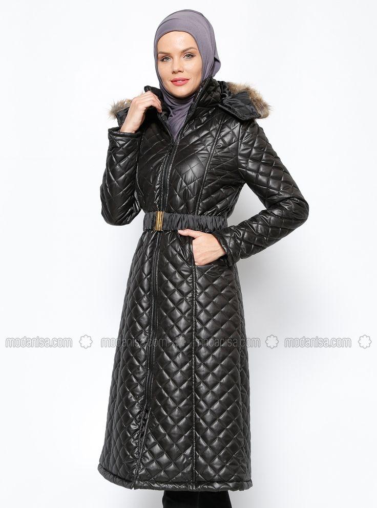 Puffer jacket - Black - Zinet