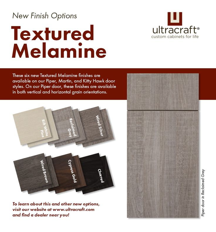 Check Out The Six New Textured Melamine Finishes That Were Introduced In  Our January 2017 Product