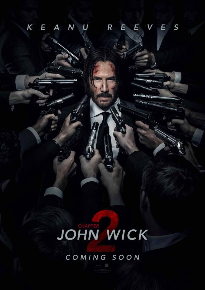 John Wick: Chapter 2  ('Cool' murder extravaganza, a little bit more long winded than part 1, 8-)