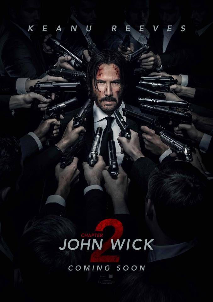 John Wick: Chapter 2  ('Cool' murder extravaganza, a little bit more long winded than part 1, 8-)