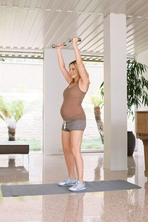 30-Minute Total-Body Pregnancy Workout. For future reference