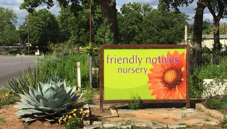 Friendly Natives Nursery Fredericksburg TX