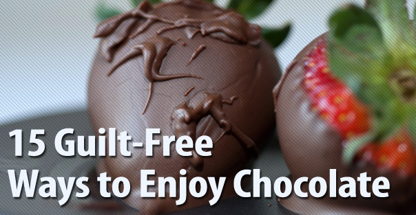 15 Guilt-Free Ways to Enjoy Chocolate: Healthier Desserts, Healthy Snacks, Sweet Treats, Healthy Sweet, Chocolates Strawberries, Sweet Tooth, Chocolates Covers Strawberries, Chocolates Dips, 33 Healthier