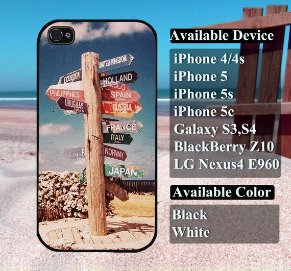Direction case  iPhone 4/4s iPhone5 iPhone5s by vallenshop on Etsy, $13.50