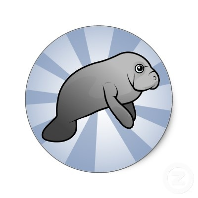 cartoon manatee | My Favoritest Animal! | Pinterest ...