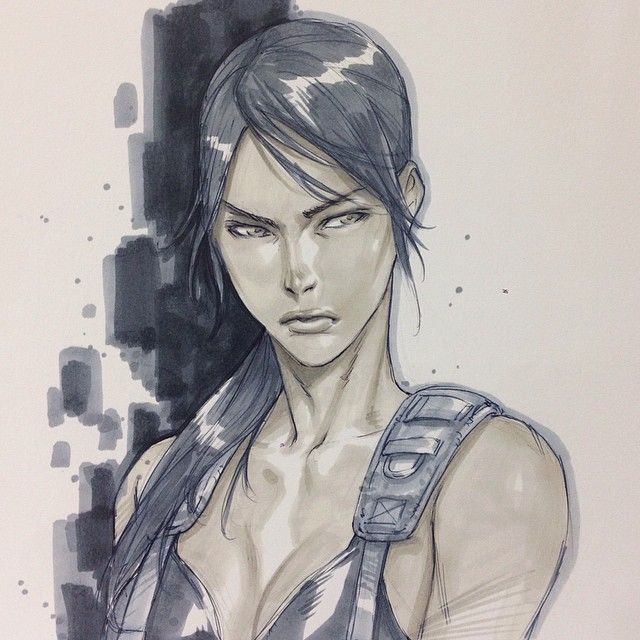 Metal Gear Solid V - Quiet by Alvin Lee