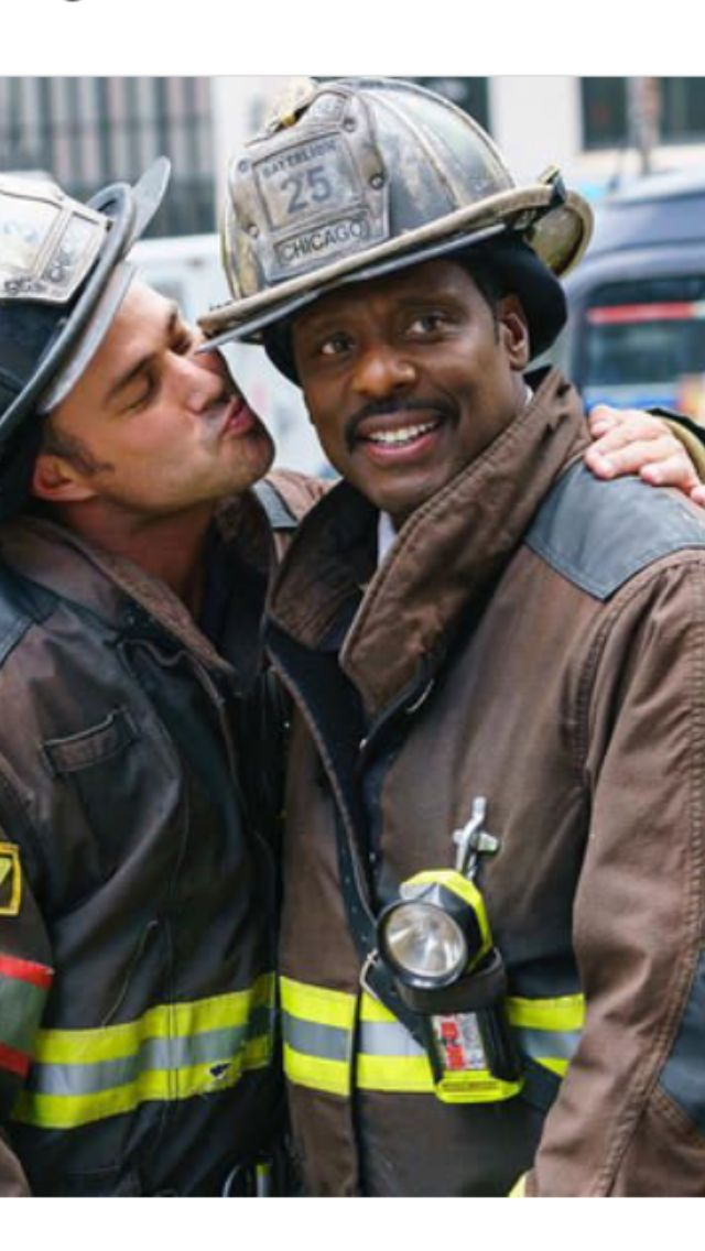 leuitenant severide and chief boden. #chicagofire