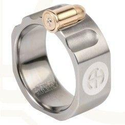 Pierścień z tytanu HADRYŚ quotRosyjska ruletkaquot