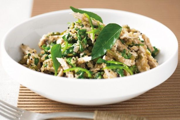 Spice up your life with this healthy Indian inspired chicken and quinoa combination.