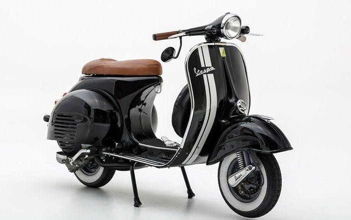 Modifikasi Motor Vespa Bakti Kita Pinterest Vespa Vintage Vespa And Scooters