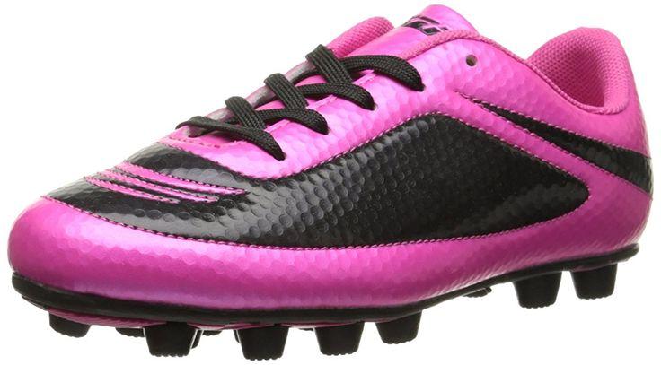 Vizari Infinity FG Soccer Cleat (Toddler/Little Kid/Big Kid), Pink/Black, 9 M US Toddler