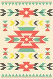 Vecteur : Vector Tribal element, ethnic collection, aztec stile, tribal art, tribal design isolated on light background. Tribal element in bright colours.