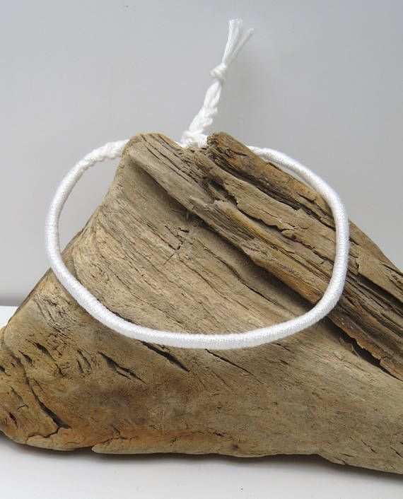 "bracelet brésilien  friendship-bracelets homme ""white party"""