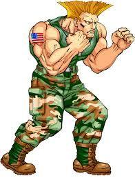 Resultado de imagen para guile street fighter