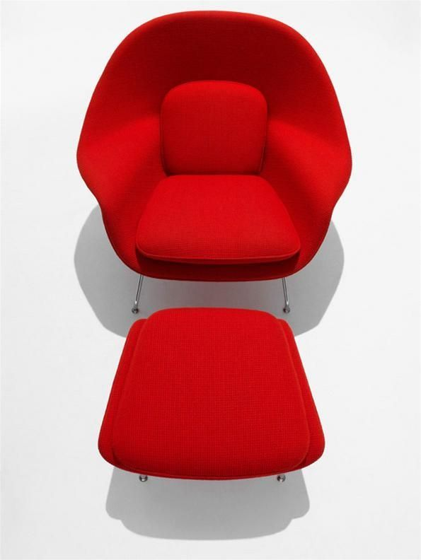 Captivating Saarinen Womb Chair And Ottoman