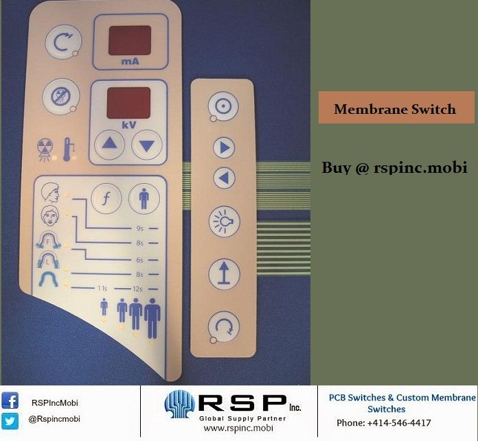 A Membrane Switch comprises of multiple layers of different materials usually polyester and polycarbonate. Membrane Switches with tactile response give a click feel.  Buy now @ http://goo.gl/JlIgS