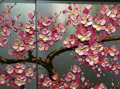 Tamaño 1: 40x65cmx3panels---(16 x 26 inchesx3panels) Tamaño 2: 50x80cmx3panels---(20 x 32 inchesx3panels) Tamaño 2: 60x100cmx3panels---(24 x 40 inchesx3panels) Tipo: Pintado a mano Marco: con marcos de madera juntos, listos para colgar en pared. Estilo: Pintura al óleo abstracta grueso cuchillo de paleta Temas: Peachy rosado flor flor ciruelo Medio: seguridad y protección del medio ambiente pintura acrílica Base de soporte: Lona marcos de madera. is_customized: sí Forma: Grupo aceite ...