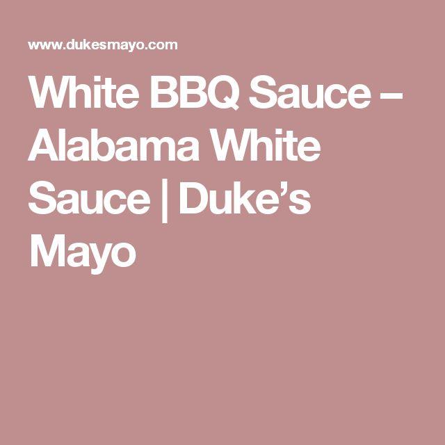 White BBQ Sauce – Alabama White Sauce | Duke's Mayo